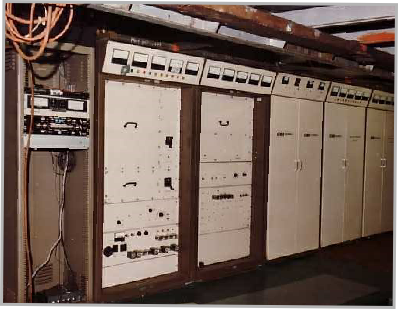 Communicator transmitter room