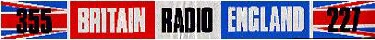 Radio England Britain Radio sticker