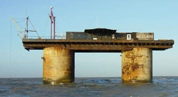 Roughs Tower as Sealand