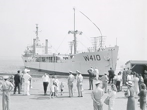 Courier returning to home port  August 1964