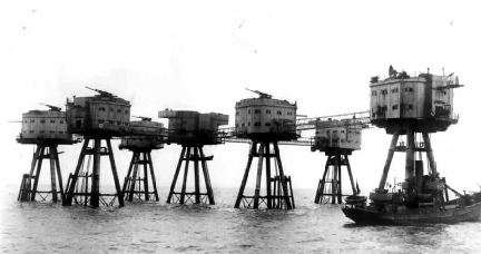 Shivering Sands Fort 1944