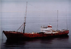 Ross Revenge in late 1988