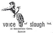 Voice of Slough logo