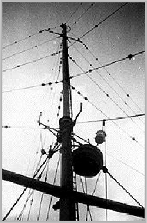 Aerial mast after the 1966 refit