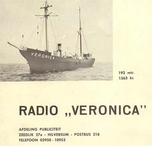 Early Radio Veronica QSL