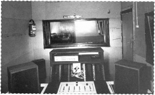 One of the studios on board Magda Maria