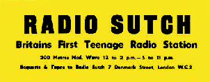 Radio Sutch sticker